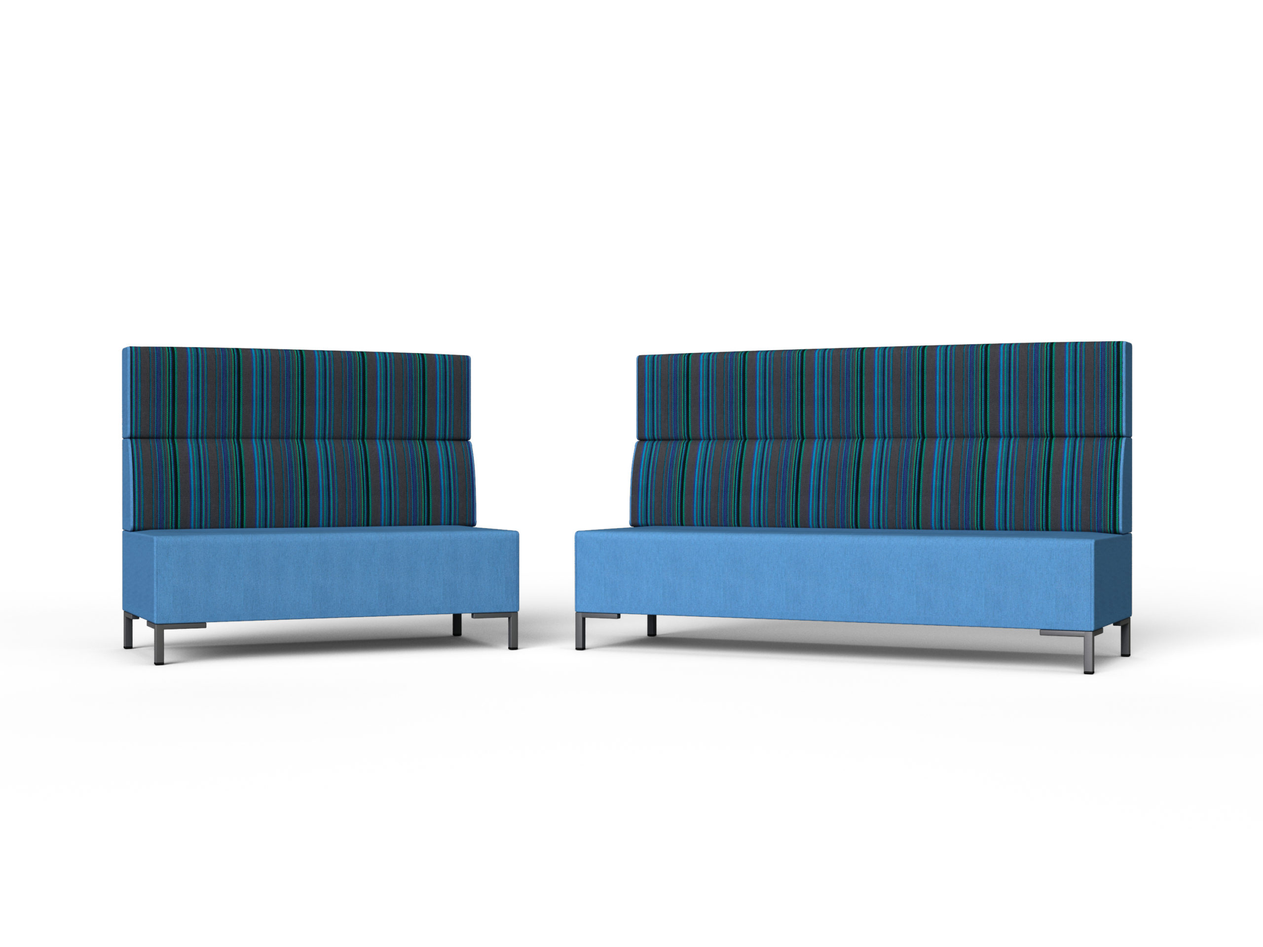 high backed soft seating for school office university sound trapping