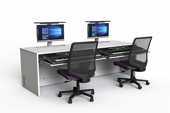 zioxi M1 Music Desk with hideaway screens