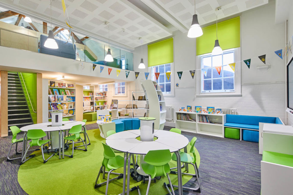Learning resource centre discovery hub arnots st mary ICT integrated library zioxi