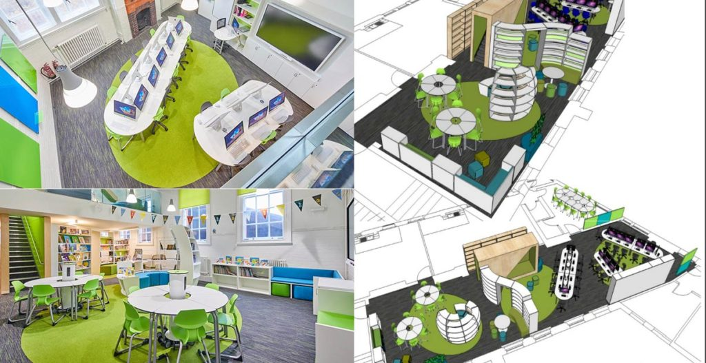 Arnots st marys school LRC library ICT integrated discovery hub