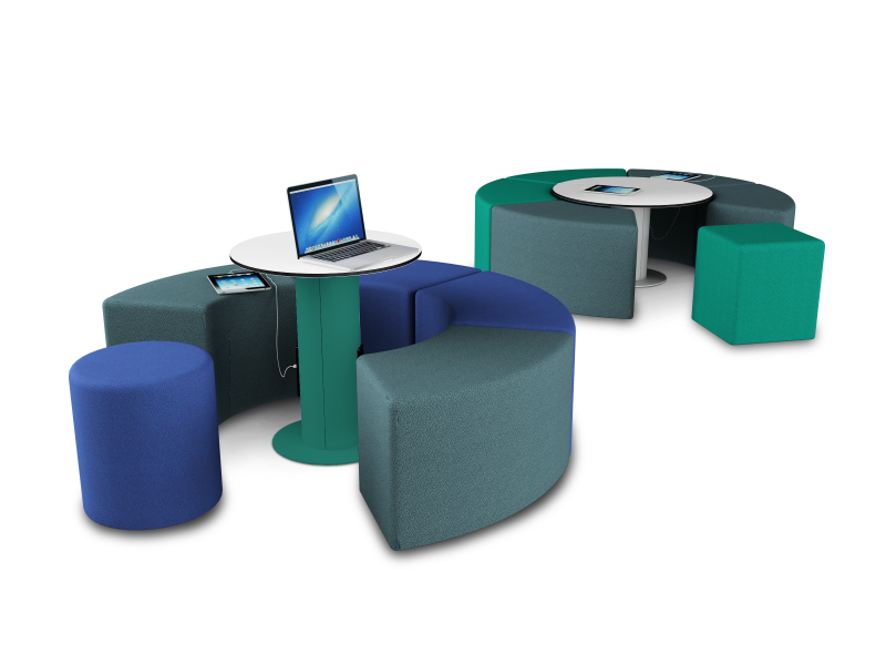 zioxi meeting table, with power and data